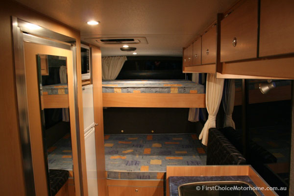 Conversion Bus Kitchen With Island