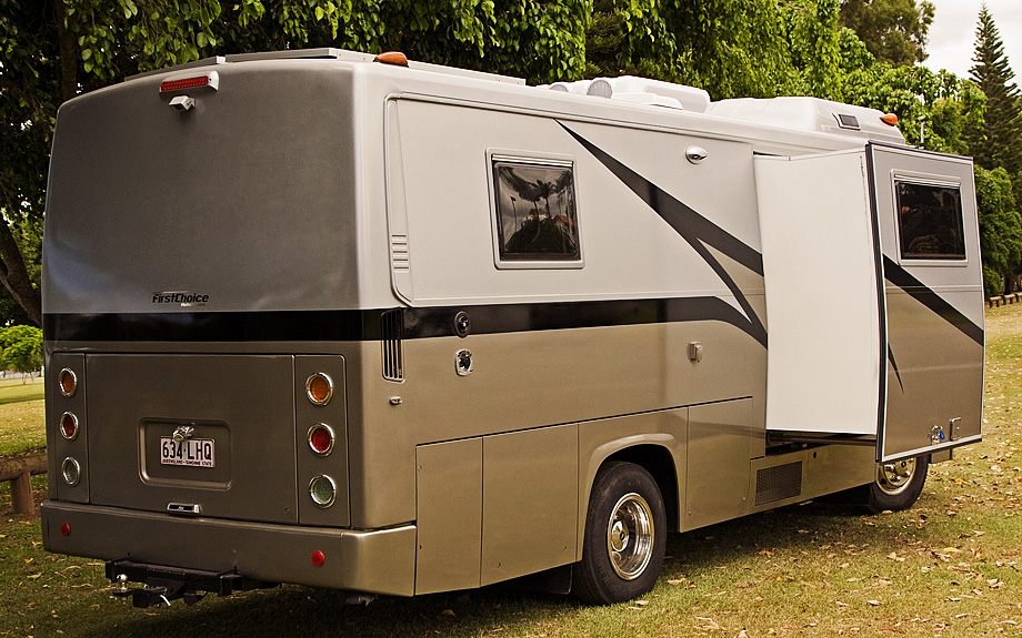 The Johnston Hino 160 Motorhome Conversions Fitout First