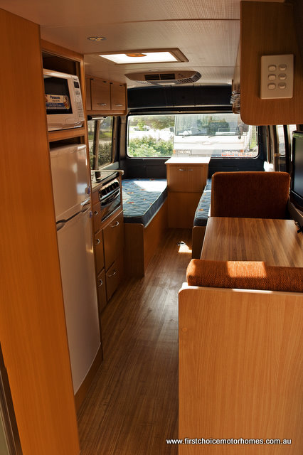 Toyota Coaster Motorhome Conversion First Choice Motorhomes